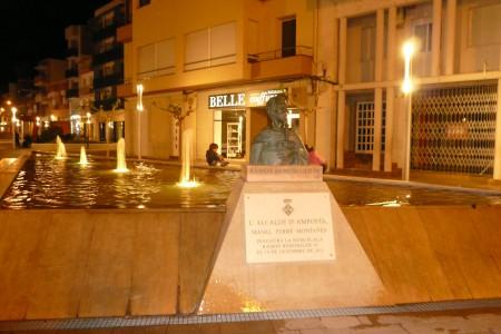 Plaça del Mercat Municipal d'Amposta