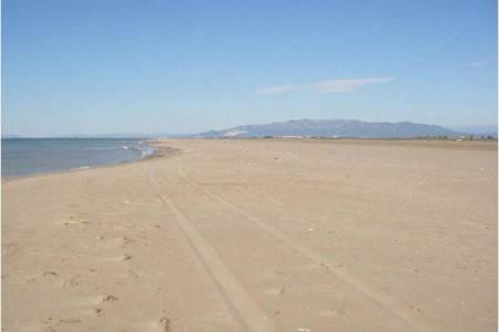 Platja de la desembocadura de la Bassa de la Platjola
