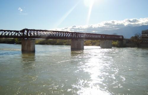 Pont del ferrocarril – via verda de la Val de Safàn