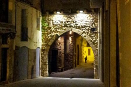 Portal del Romeu i Palaus Gòtics