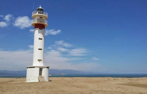 Punta del Fangar i la platja de la Marquesa
