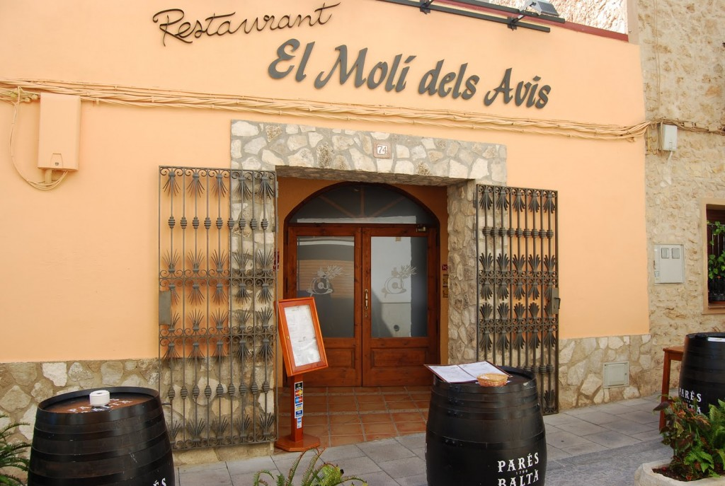 restaurant mol dels avis a l 39 ametlla de mar terres de l 39 ebre. Black Bedroom Furniture Sets. Home Design Ideas