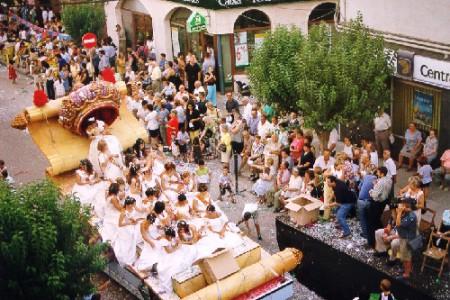 Activitats típiques de les festes majors