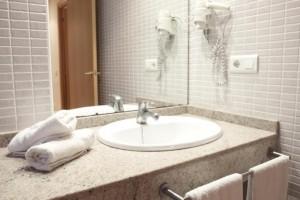 Las Dunas Riumar lavabo