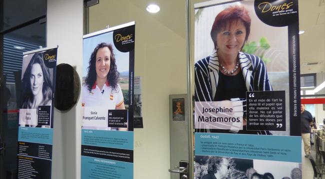 Exposició 'Dones amb nom propi de les Terres de l'Ebre'