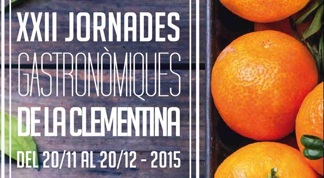 XXII Jornades Gastronòmiques de la Clementina