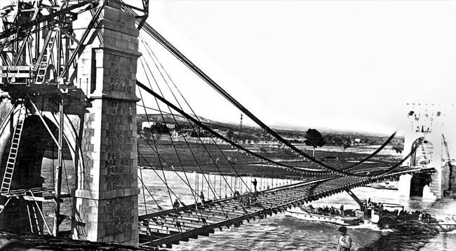 Exposició 'El pont penjant d'Amposta. Iconografies per a una ciutat'